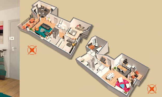 Appartements confortables chez Malesherbes (3)